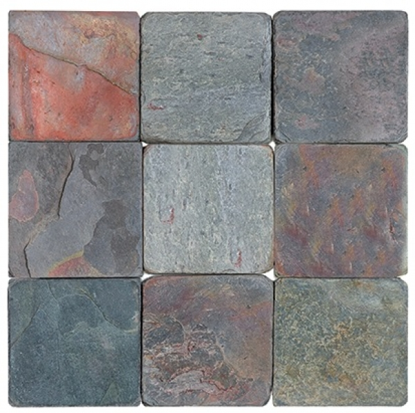 Multi Color Slate Soho Tiles Marble And Stone