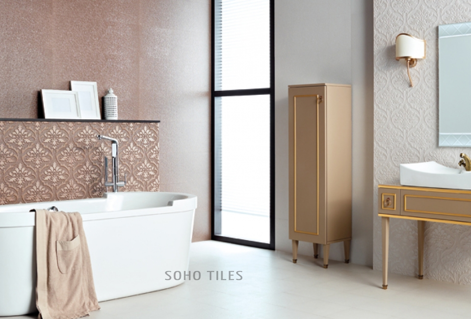Lotus Oriental  Wall Tile