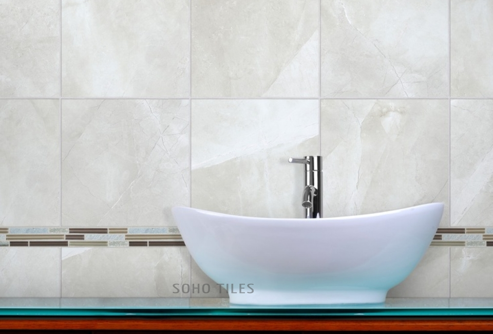 Anatolia Tile Statuario Polished 12 In X 24 In Porcelain Marble Floor And Wall Tile
