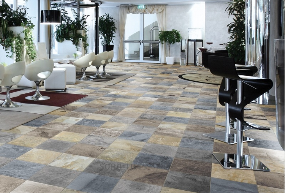 Indian Autumn Slate Soho Tiles Marble And Stone