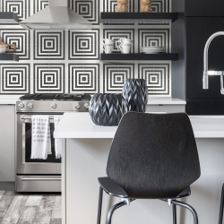 Form Monochrome Geo Deco HD Porcelain Tile