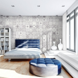 Grey Decor Ceramic Wall tile