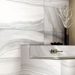 Calacatta Polished Porcelain Slab