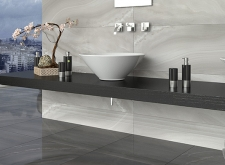 Agatha Ceramic Wall Tile-Antracite &Grey